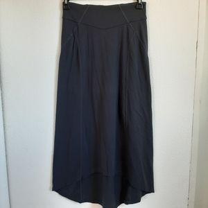 ATHLETA long maxi skirt slight high low